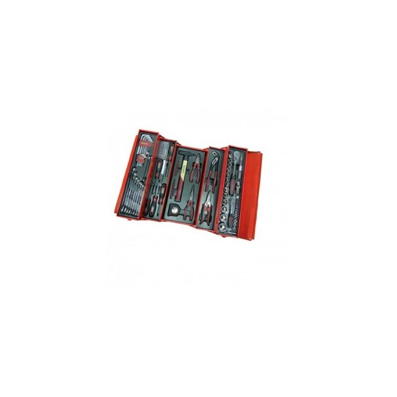 Caisse à outils KRAFTWERK métallique 106 outils – 3036