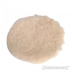 Bonnet de polissage auto-agrippant en laine d'agneau