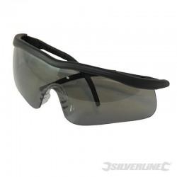lunettes de s curit verres fum s. Black Bedroom Furniture Sets. Home Design Ideas