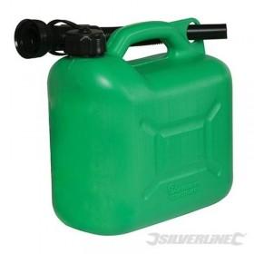 Bidon à carburant plastique...