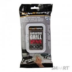 Lingettes de nettoyage spéciales barbecue - 12 lingettes