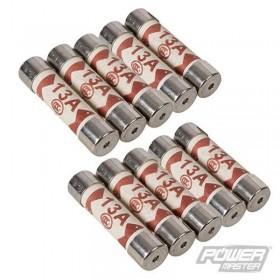 Lot de 10 fusibles 13 A