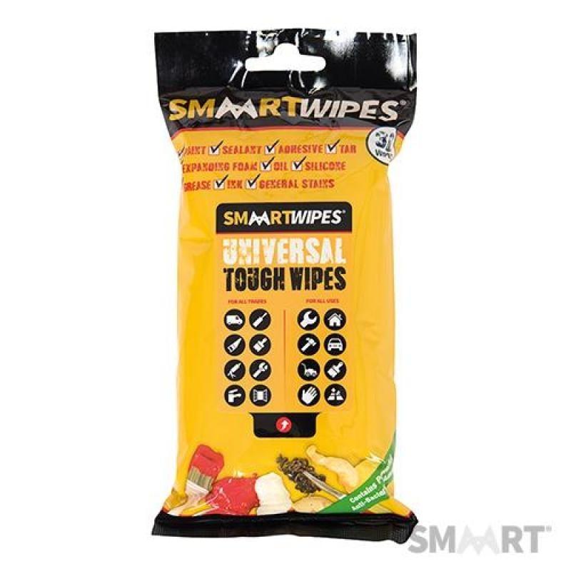 Lingettes universelles ultrarésistantes - 30 lingettes