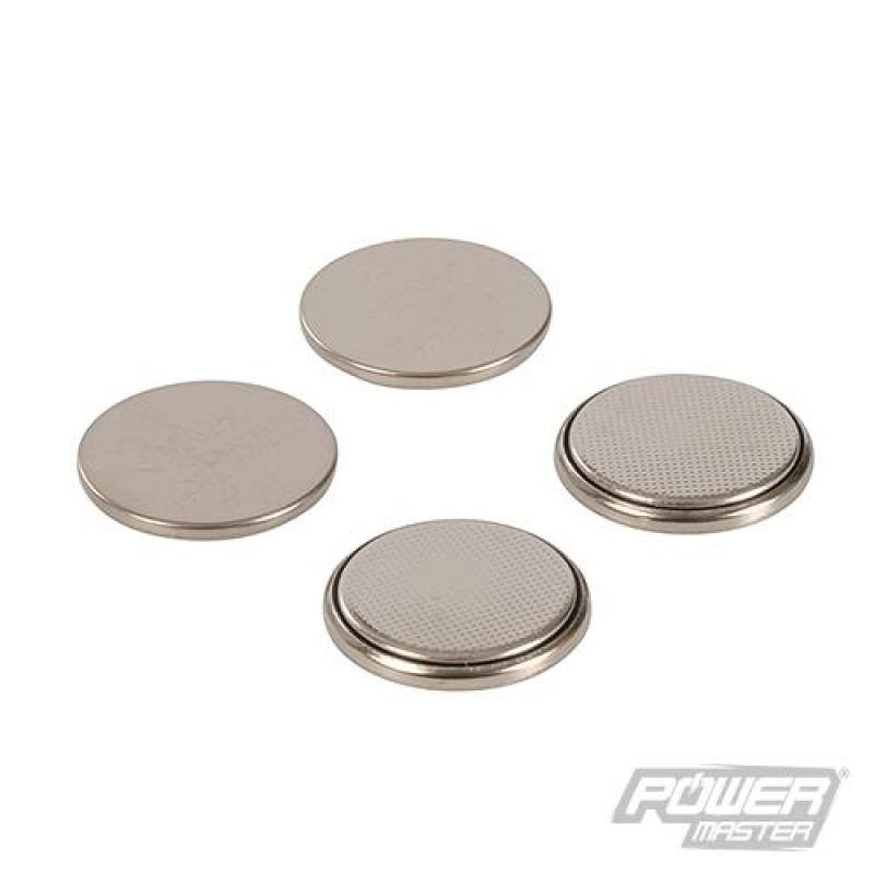 Lot de 4 piles bouton lithium CR2025