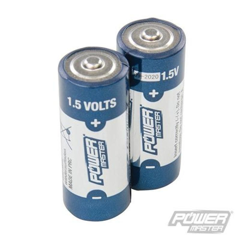 Lot de 2 piles alcalines 1,5 V Super LR1