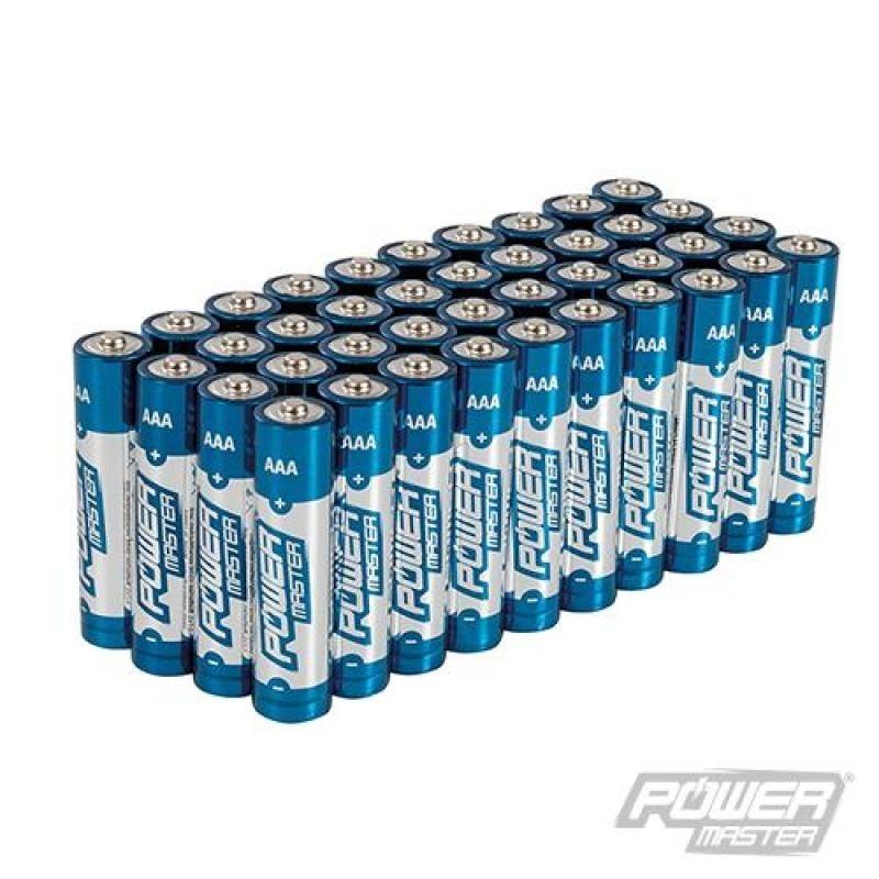 Lot de 40 piles alcalines Super LR03 type AAA