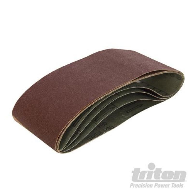 Bandes abrasives 64 x 406 mm 5 pcs