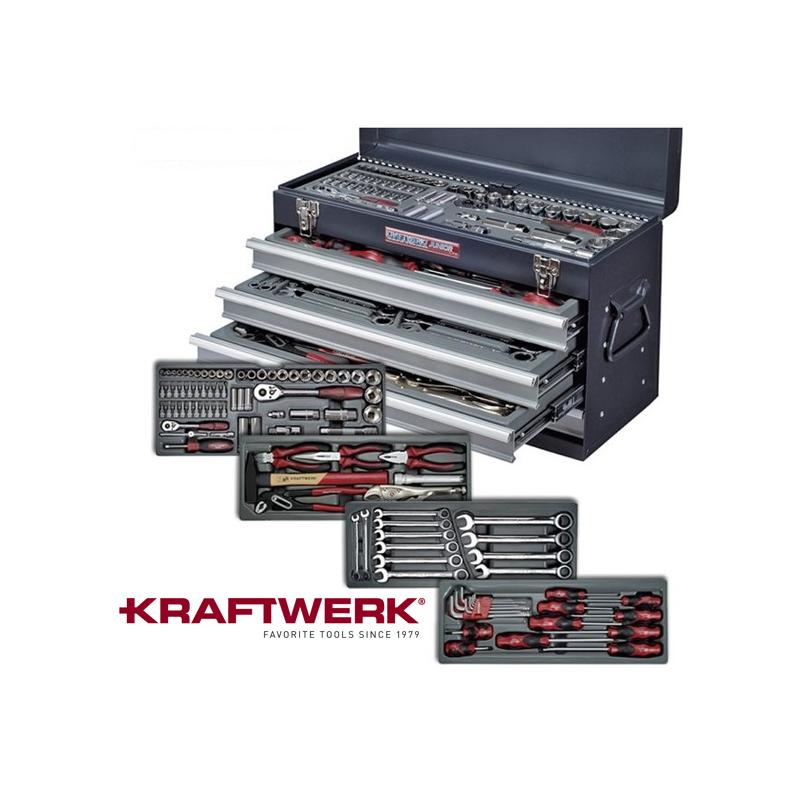 Coffret complet 4 tiroirs KRAFTWERK
