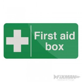 Pancarte « First Aid Box »...
