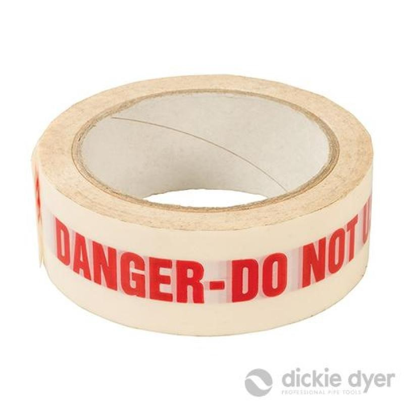 Bande adhésive DANGER DO NOT USE 38 mm x 33 m
