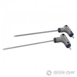 2 Clés de démontage de circulateur 4 x 185 mm / 5 x 185 mm