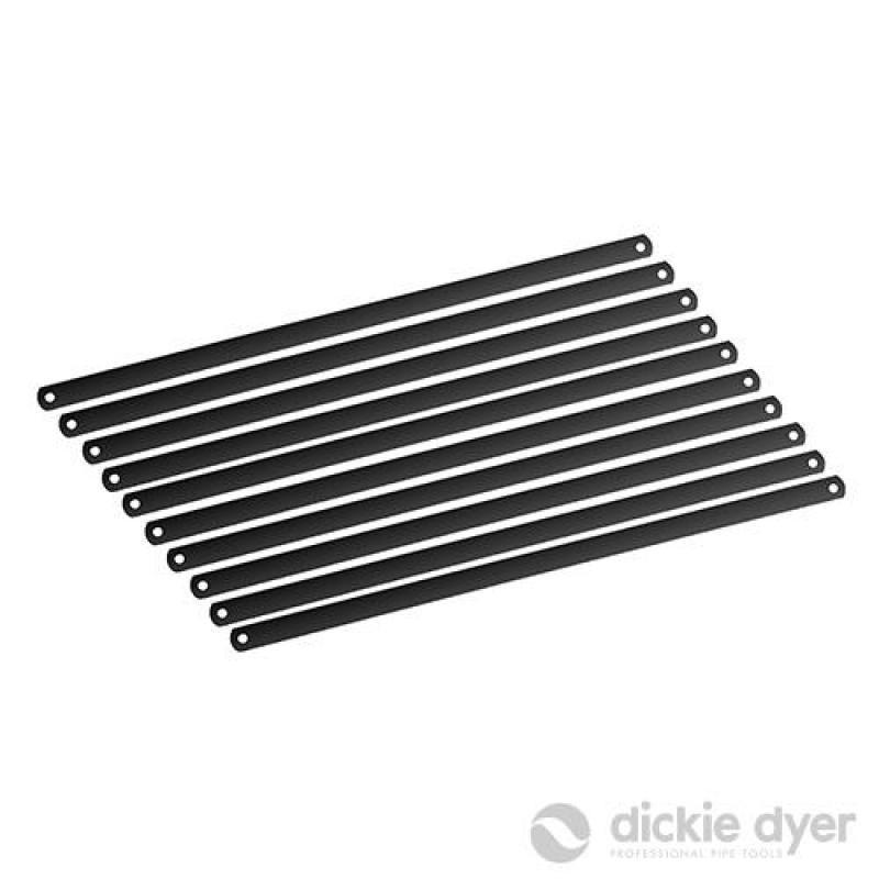 10 lames bimétal pour scie à métaux 300 mm
