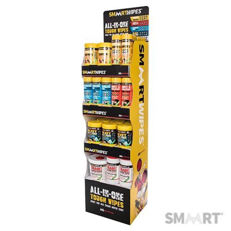 Présentoir autoportant SmaartWipes 4 étagères