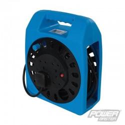 Enrouleur de câble électrique 230 V 4 prises - 15 m
