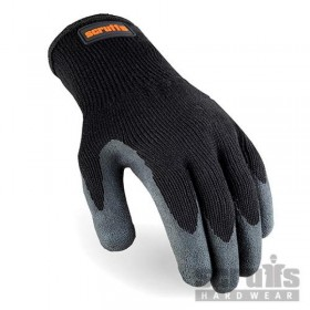 Gants noirs à revêtement...